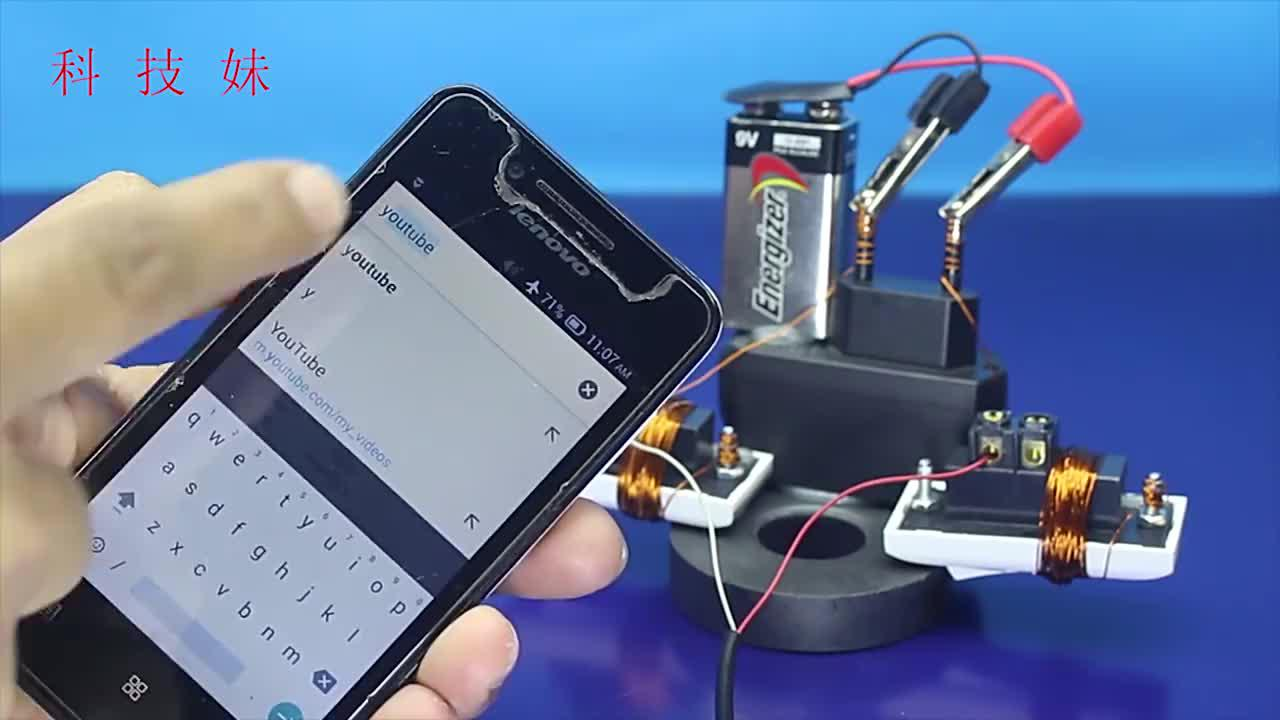 小伙在家制作免费的上网神器,手机插上就能上网,不用交网费了