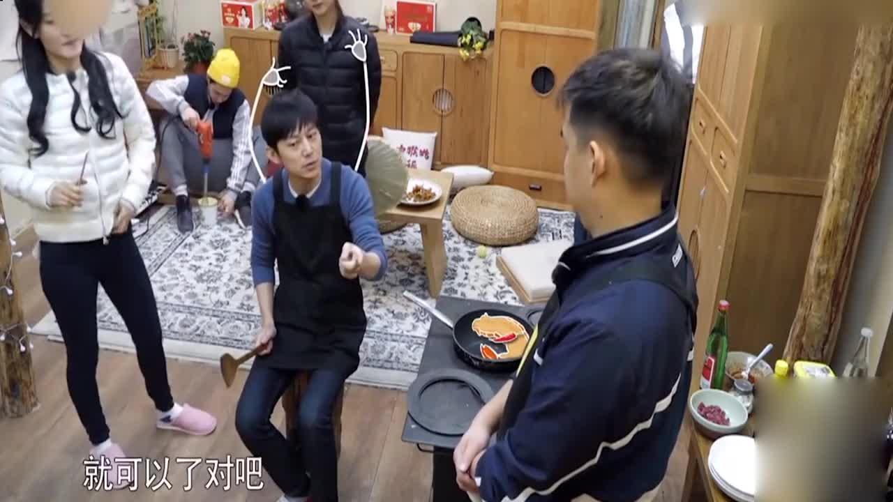 何炅第一次做菜,油爆虾尾对他还有另一层深远意义!