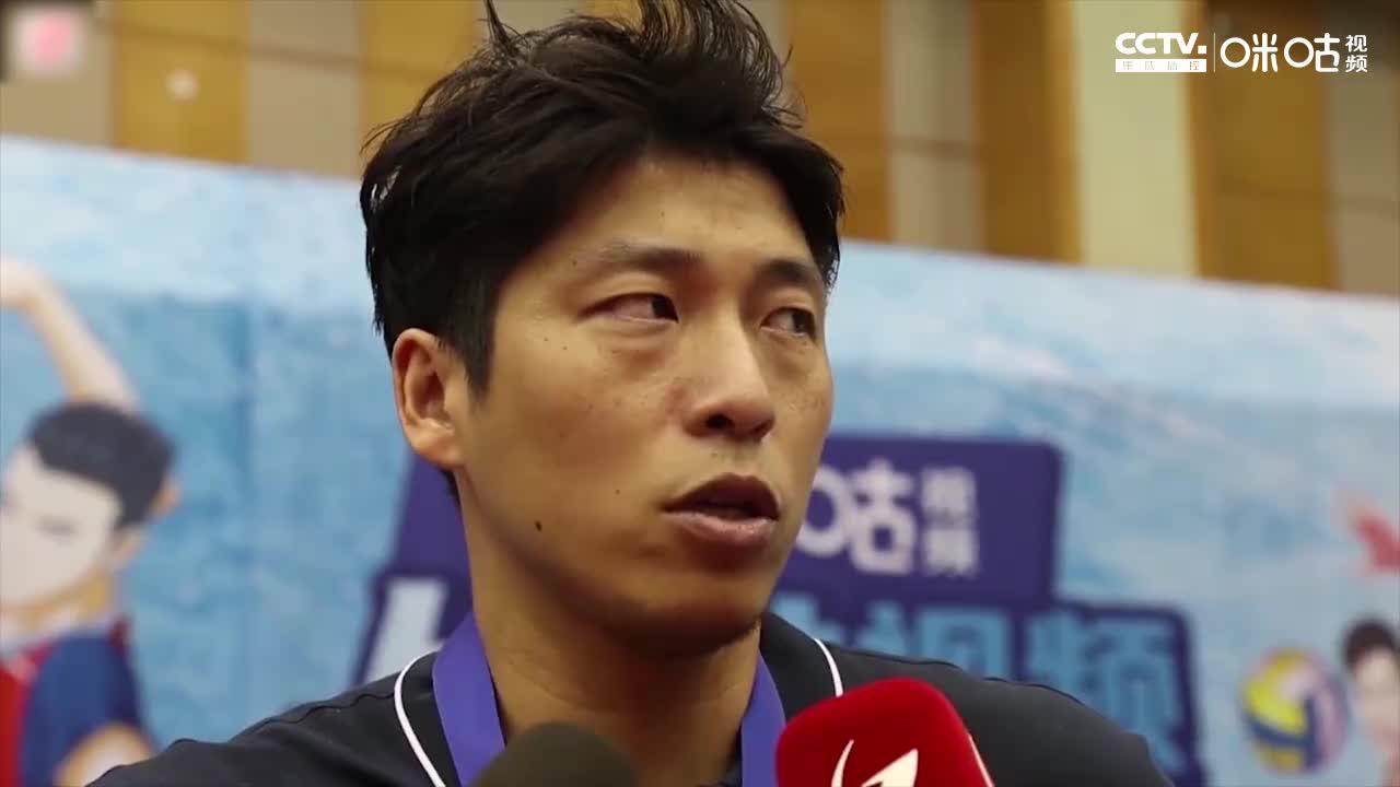 上海男排夺冠赛后采访 沈琼:夺冠是对老男排精神的传承