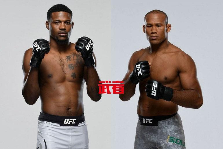 UFC 256:凯文·霍兰德vs罗纳尔多·索萨