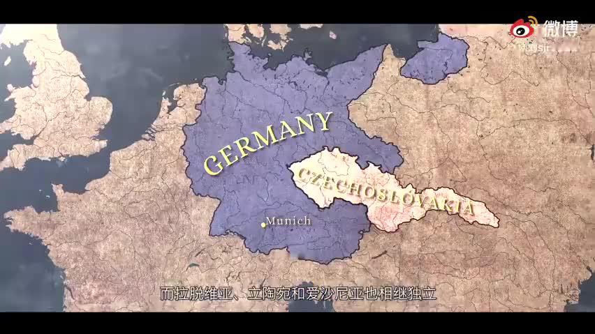 慕尼黑会议出卖接捷克,德国吞并捷克斯洛伐克,英法却无所作为