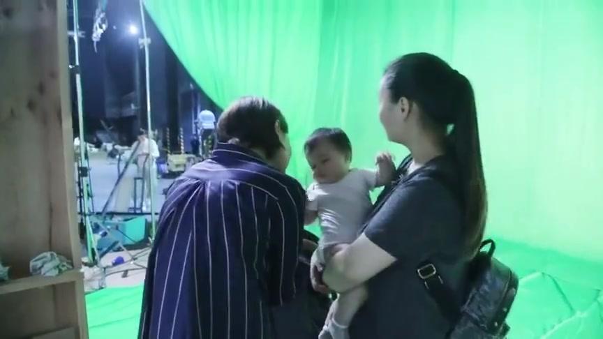 花絮:梁超拍戏可爱嘟嘴,孙俪瞬间,毫无形象的大笑!