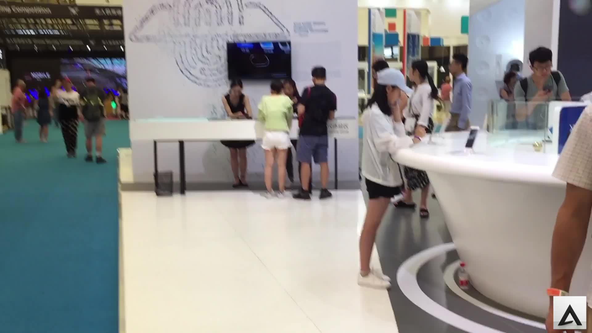 上海MWC展览带你领略vivo黑科技,屏幕指纹识别