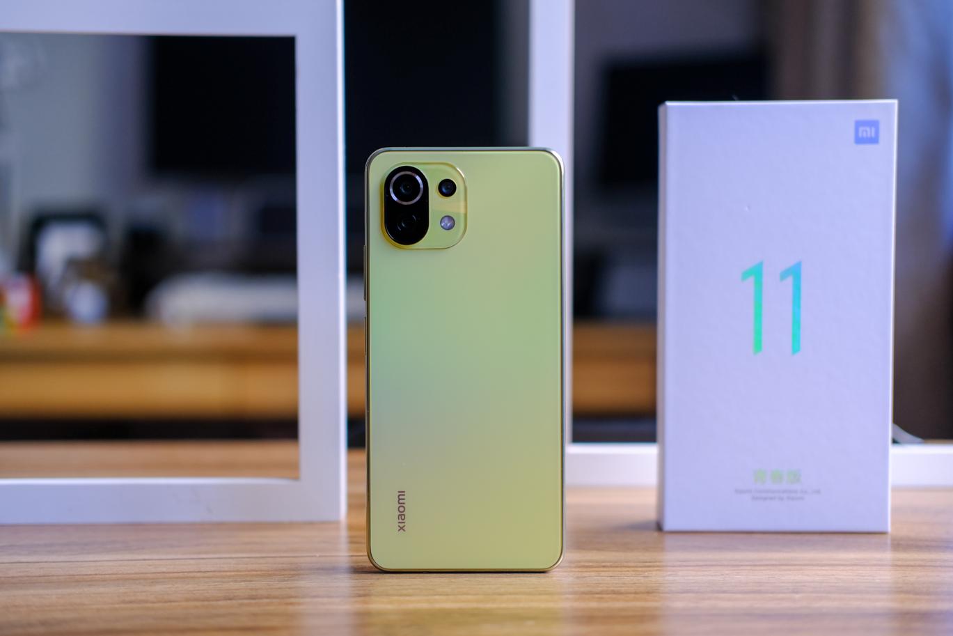 """小米11青春版上手,最轻薄的5G手机,打造""""轻奢""""旗舰体验!"""