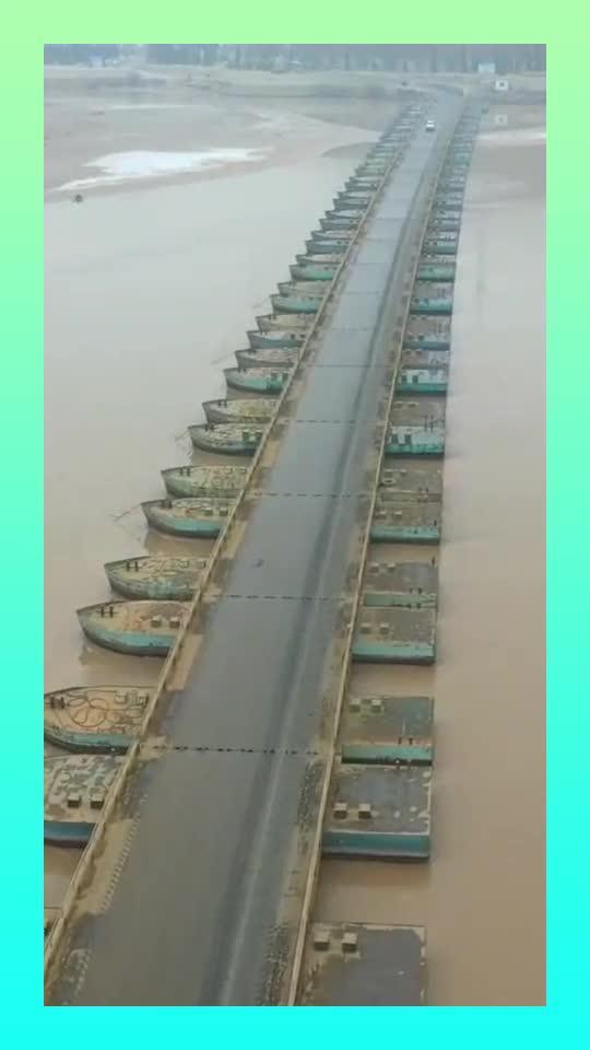一桥连接晋陕两省,改变了吴王古渡长达几千年摆渡过河的历史