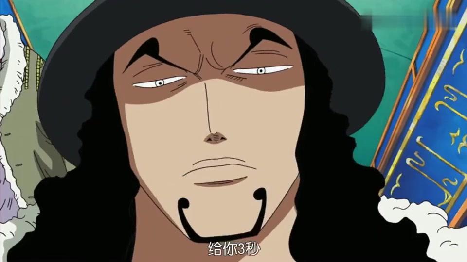 海贼:自称天才的CP9新人,惹怒了老大路奇,给他三秒时间逃命