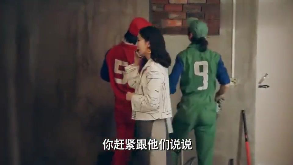 """爱情公寓5:胡一菲和曾小贤装修婚房,曾小贤竟和师傅讲""""鸟语"""""""