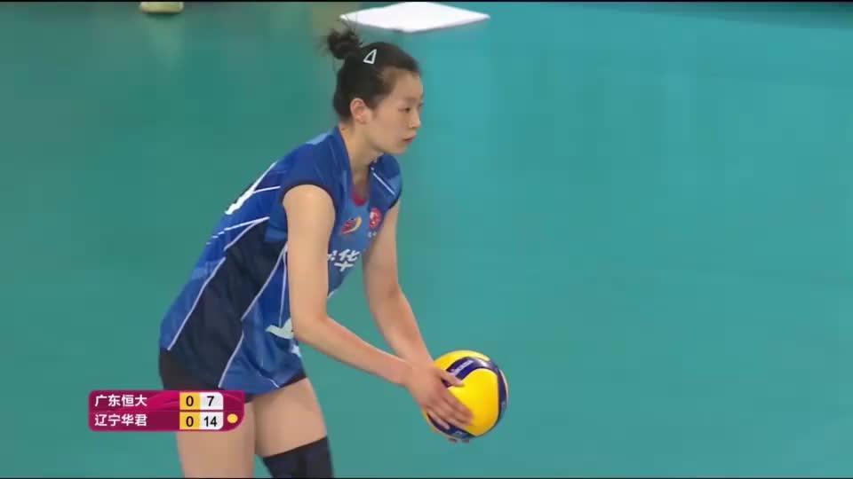 20-21赛季中国女排超级联赛第二阶段第5轮全场集锦:广东0-3辽宁