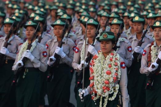 缅甸军方宣布将如期举行建军节阅兵式!举办方式引关注