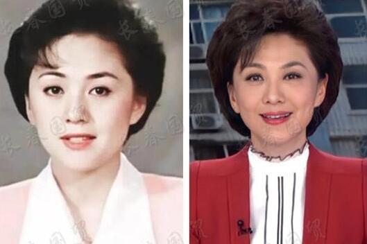 央视女主播海霞25年前旧照曝光,五官清秀端庄甜美,满脸胶原蛋白