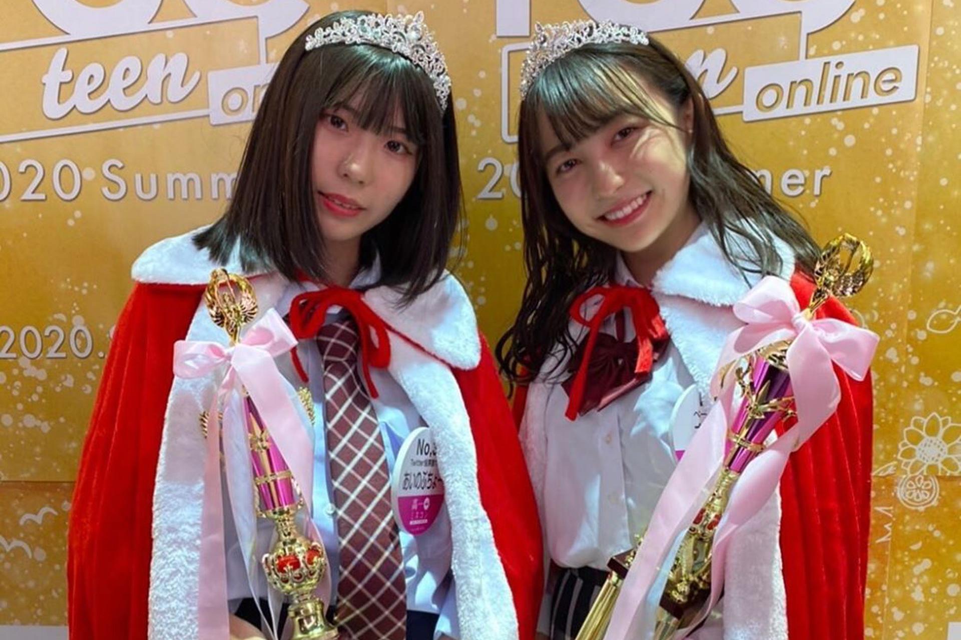 2020日本最可爱女高中生,颜值令网民傻眼:冠军以外全员路人