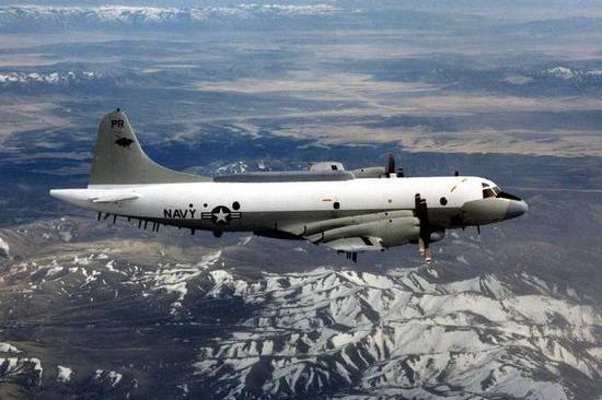 台媒:一架美军侦察机今日抵近闽粤海岸不足90公里