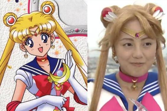 美少女战士真人版造型对比,木星最可爱,水冰月的发型太难驾驭