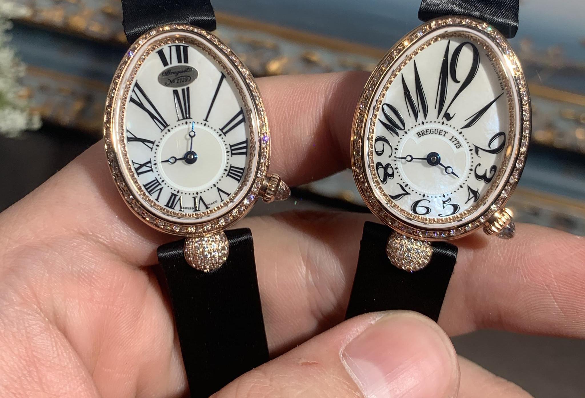 用一枚腕表,为自己加冕—品鉴ZF宝玑那不勒斯皇后8928女士腕表
