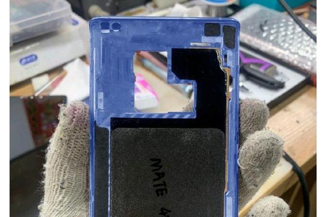 疑似华为Mate 40系列屏幕尺寸和中框曝光 新机或将于9月底发布