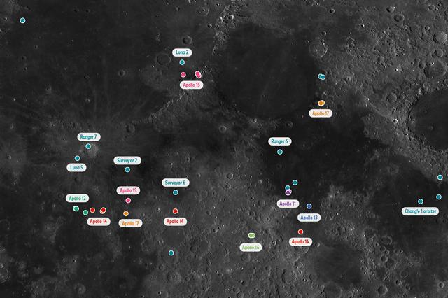 中国月球数据,帮助世界发现10万个月球陨石坑