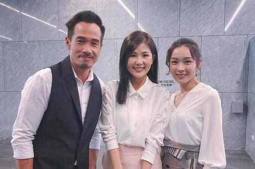 TVB小花新剧以学生妹造型开枪够型,入行8年曾为天台戏站足6小时