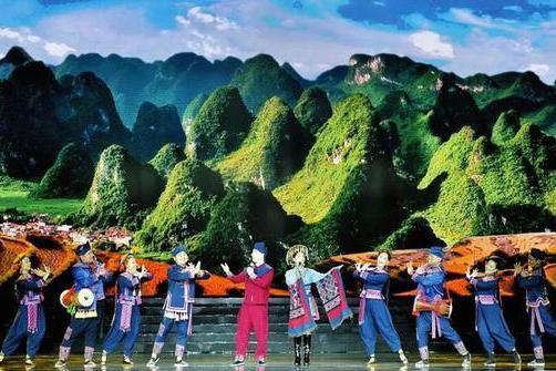 第22届南宁国际民歌艺术节开唱