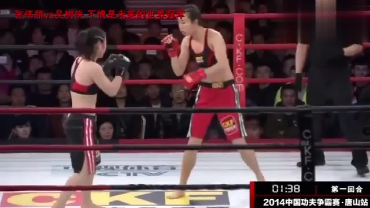 UFC女王击败过的那些对手,对手全程挨打直到倒地没有还手机会
