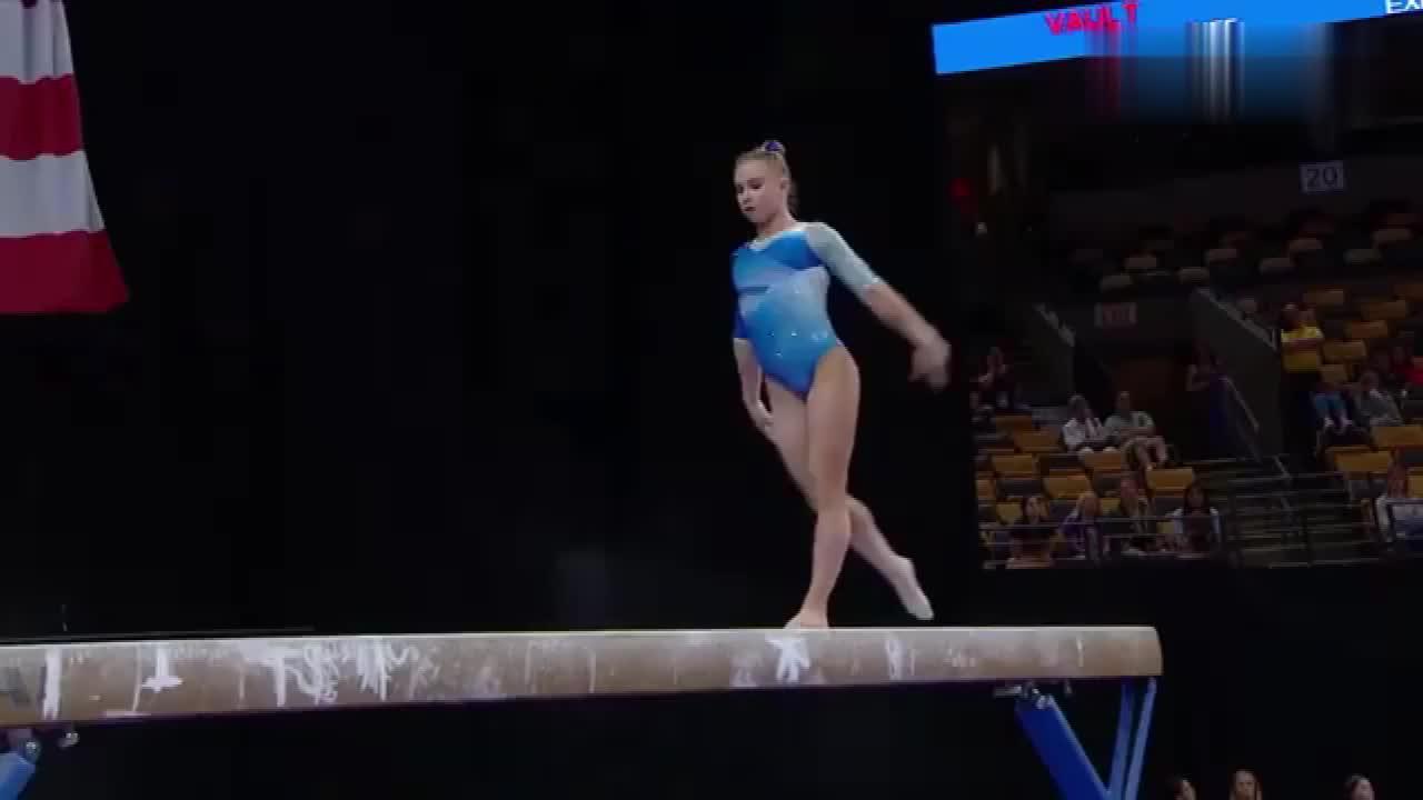 体操世锦赛,女子平衡木比赛