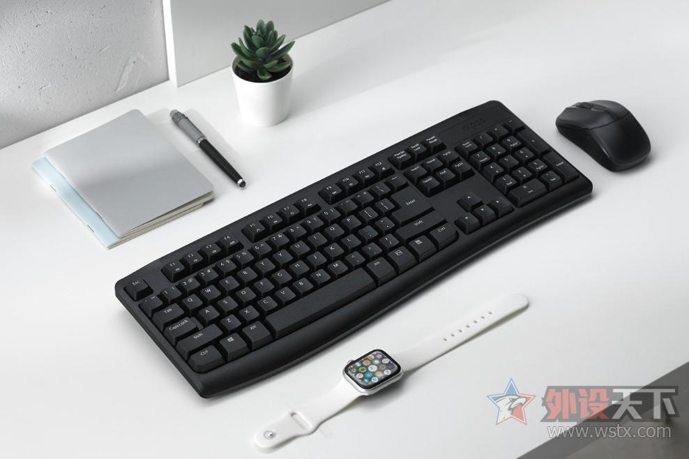 舒适自如,雷柏X1800Pro无线光学键鼠套装上市