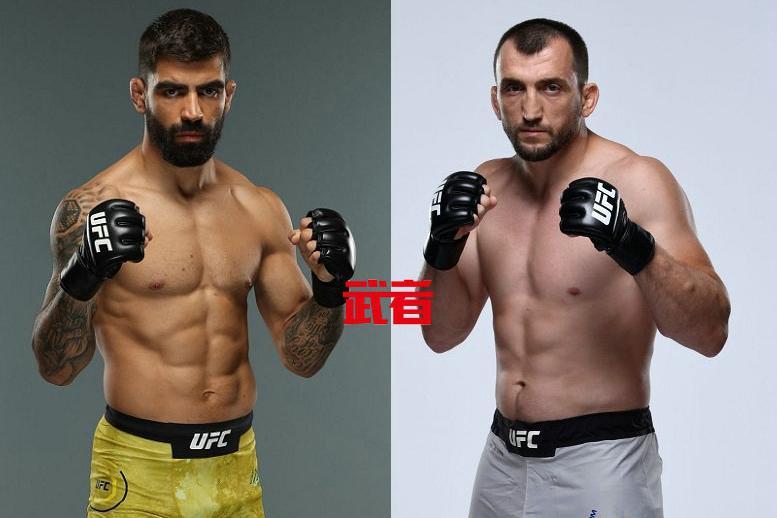 "UFC 251:""散打沙皇""穆斯里穆·萨利赫夫vs埃利苏·桑托斯"