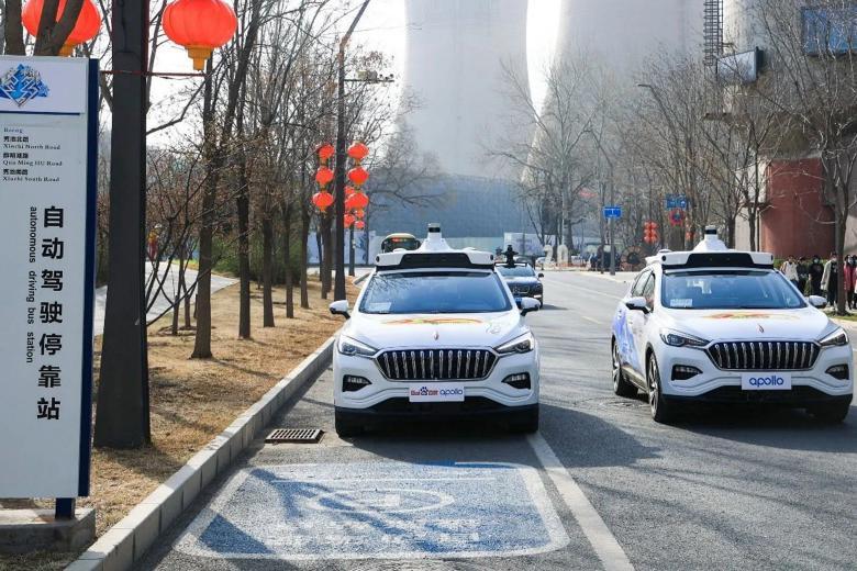 百度无人驾驶出租车Apollo Robotaxi北京开启运营