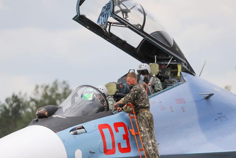 白俄罗斯正式部署苏30SM战斗机 为苏30系列最强版本