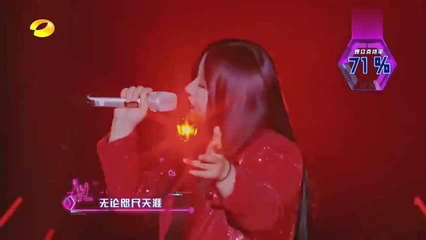 女嘉宾模仿能力太强,用郭富城声音唱《月亮之上》,谢娜都佩服了