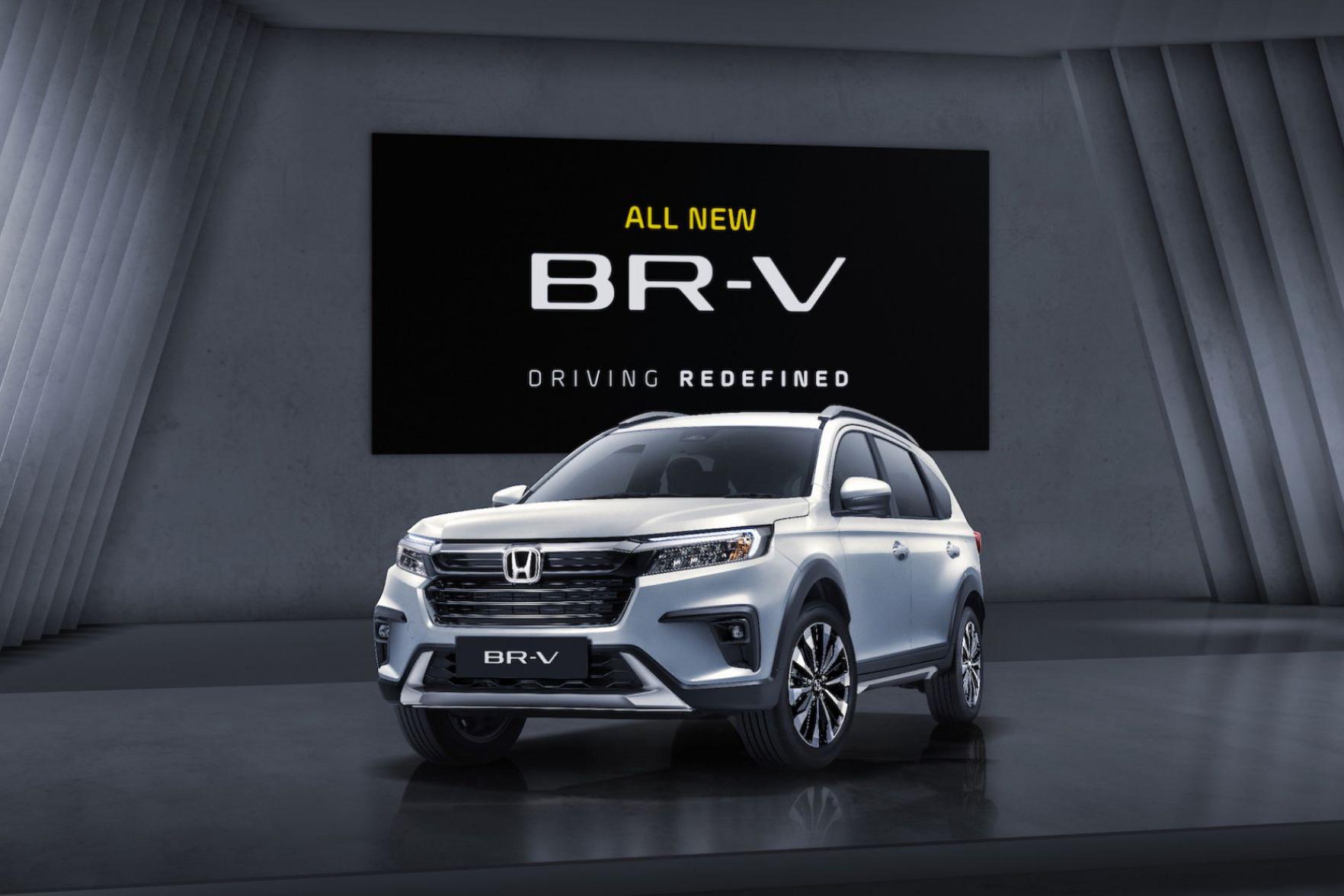 三排七座布局,全新本田BR-V在印度尼西亚亮相