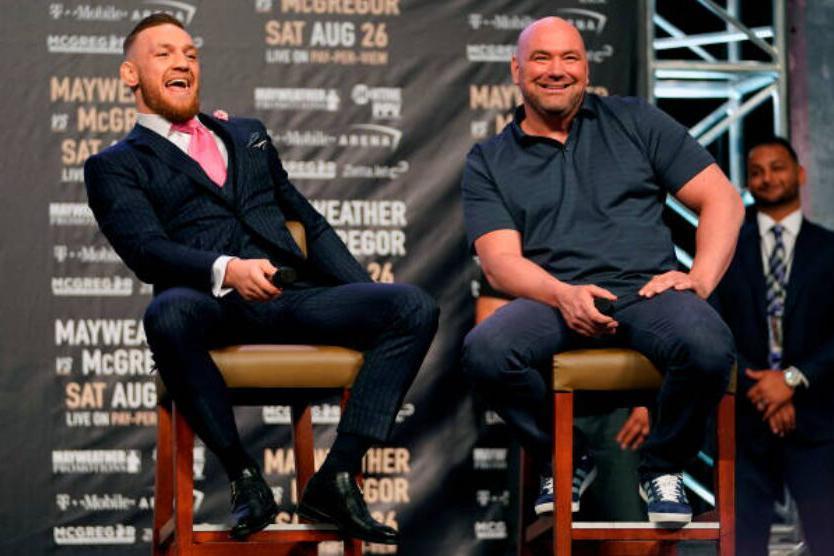 UFC总裁白大拿表示康纳·麦格雷戈有望明年初回归