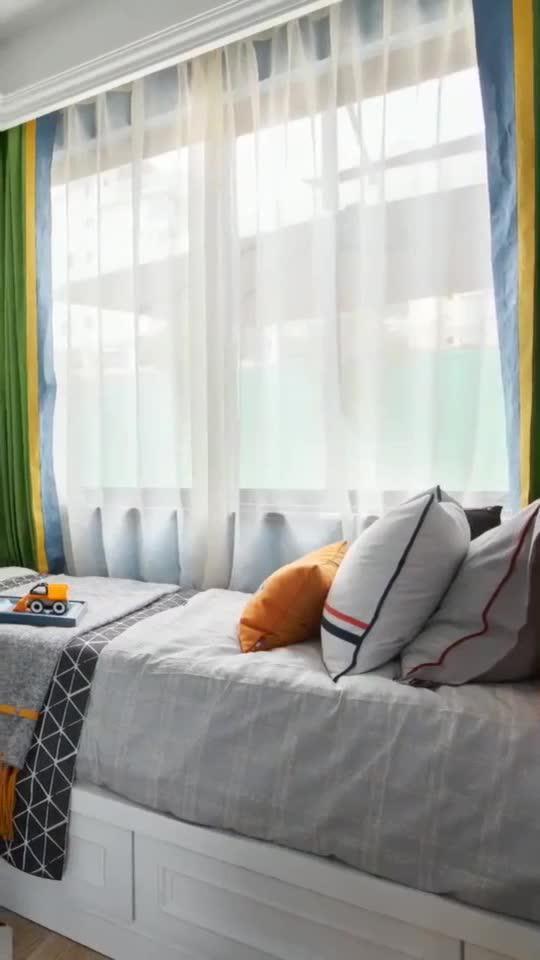分享一个装修案例,卧室可以这样设计,感觉挺好看的!