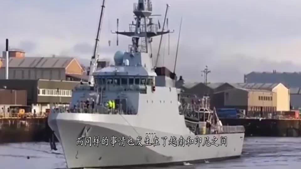 蓄意挑起战争南部海域剧烈冲突越南海警船直撞马来护卫舰