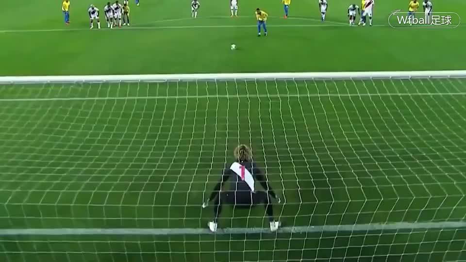 国家队进球数超越大罗,内马尔上演帽子戏法,巴西4比2战胜秘鲁