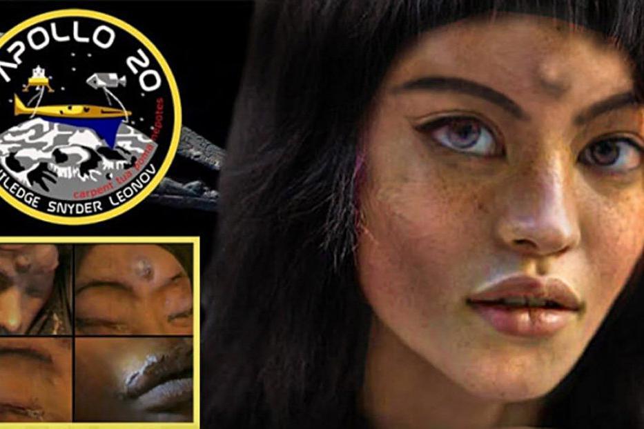 月球三眼女尸到底是真是假?月球背面隐藏着什么?