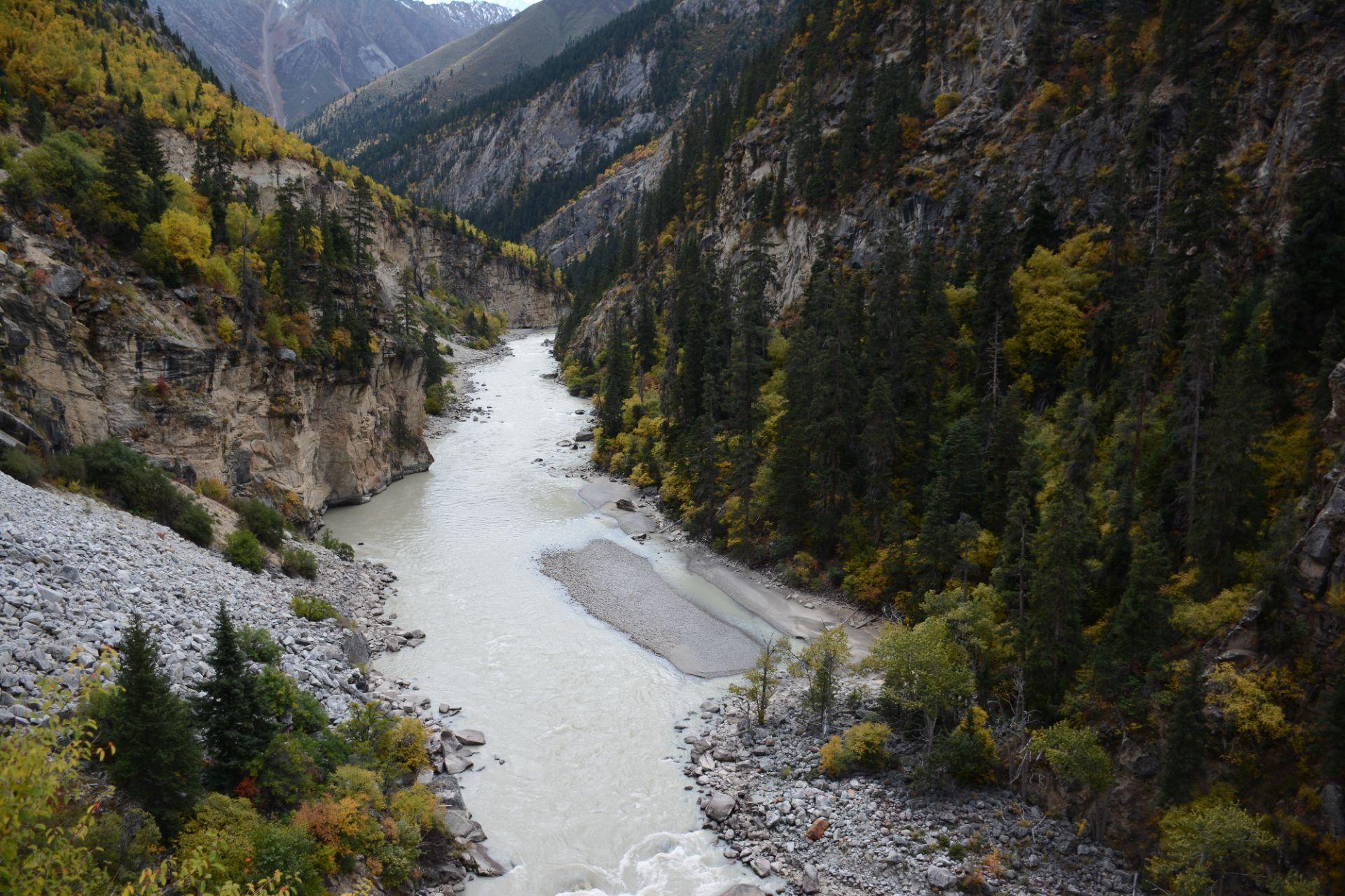 西藏自治区 林芝市 帕隆藏布江