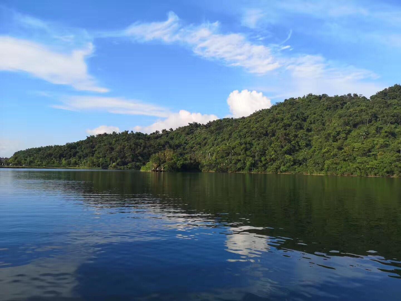 中国 台湾 宜兰 梅花湖