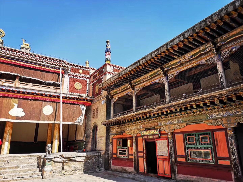 青海省 西宁市 塔尔寺 中国藏传佛教格鲁派六大寺院之一