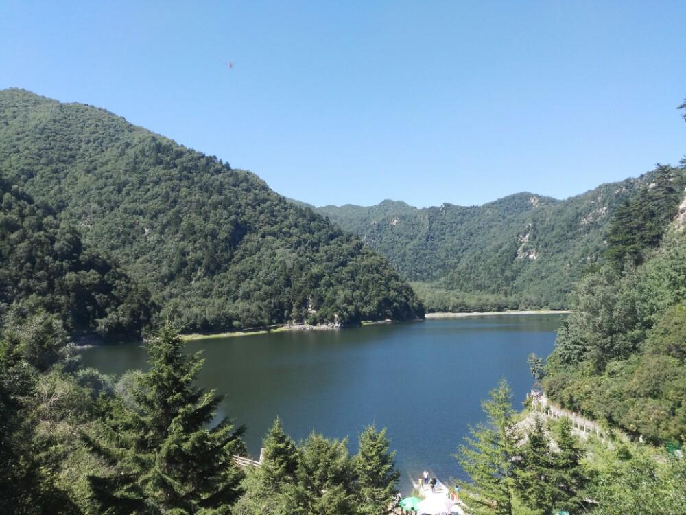 青海省 海东市 孟达天池