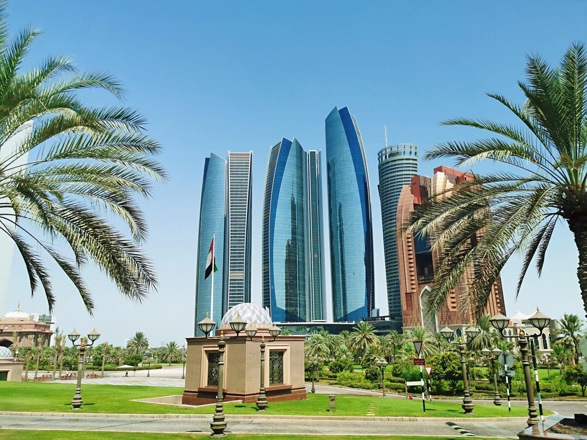 西亚 阿联酋 阿布扎比 阿提哈德大厦 速度与激情7取景地