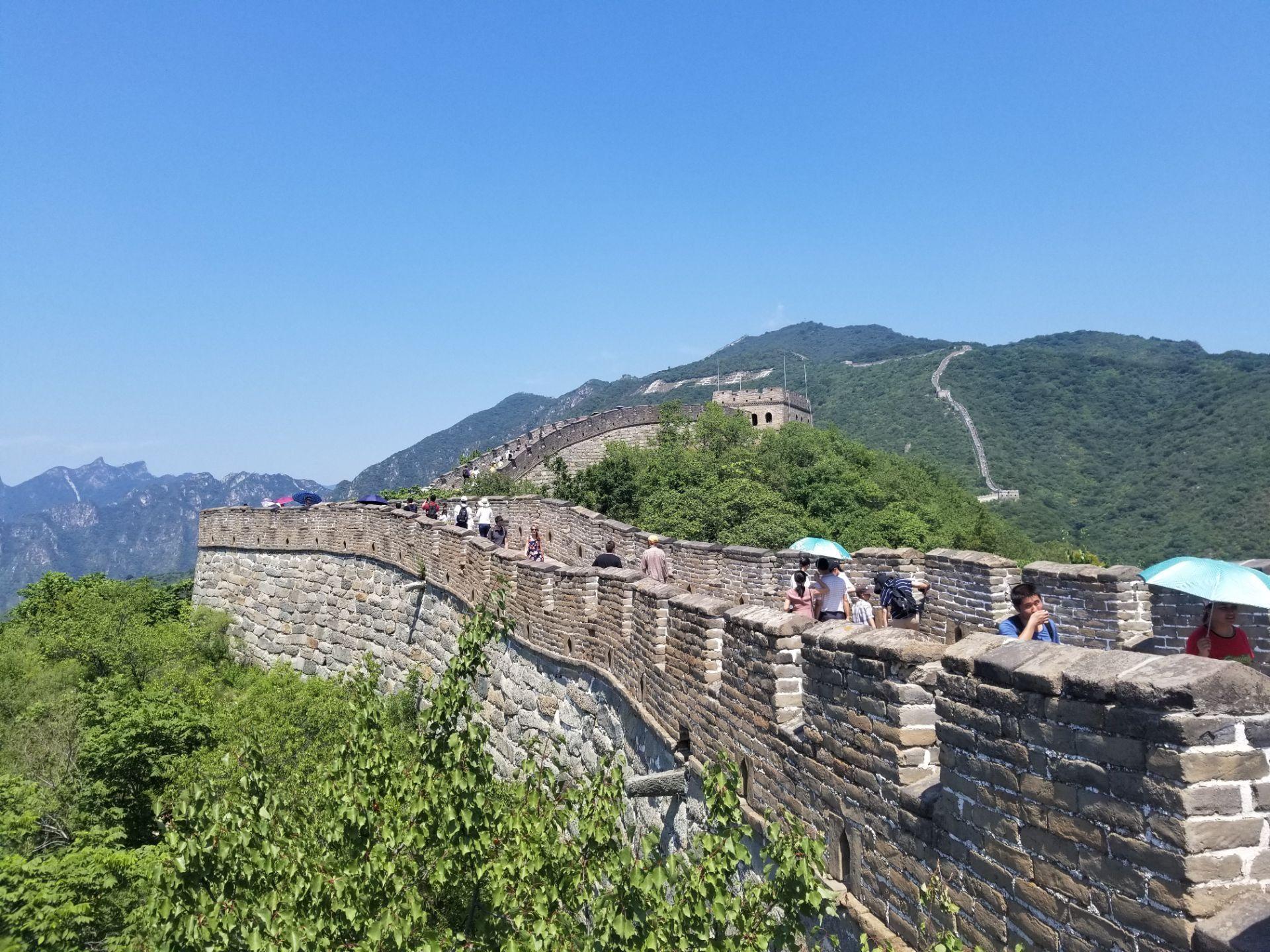 游览 北京市 怀柔区 慕田峪长城