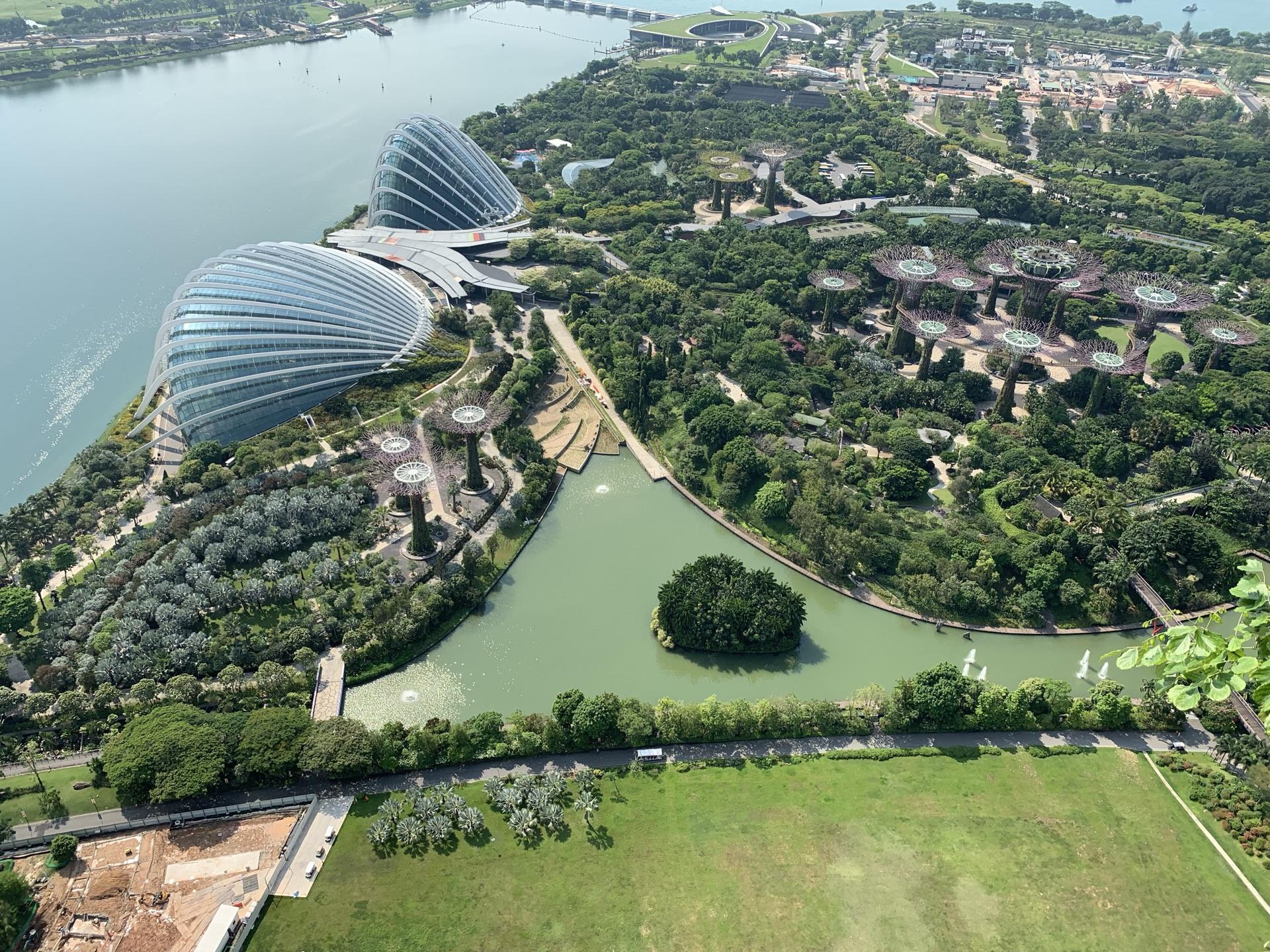 新加坡 滨海湾金沙空中花园