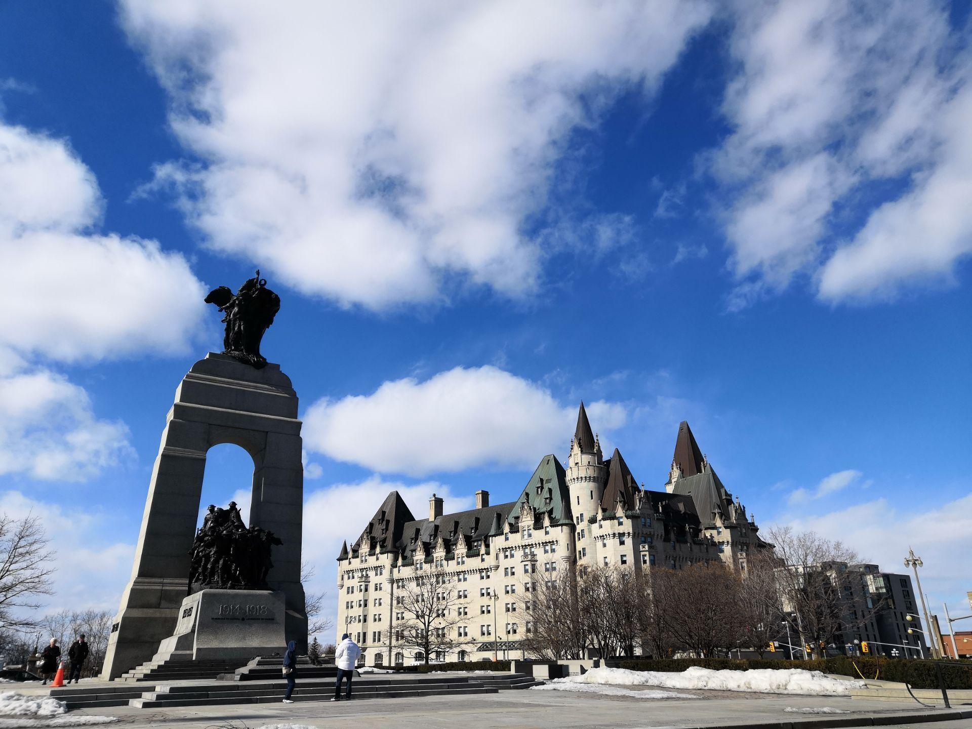 加拿大 渥太华 国家战争纪念碑