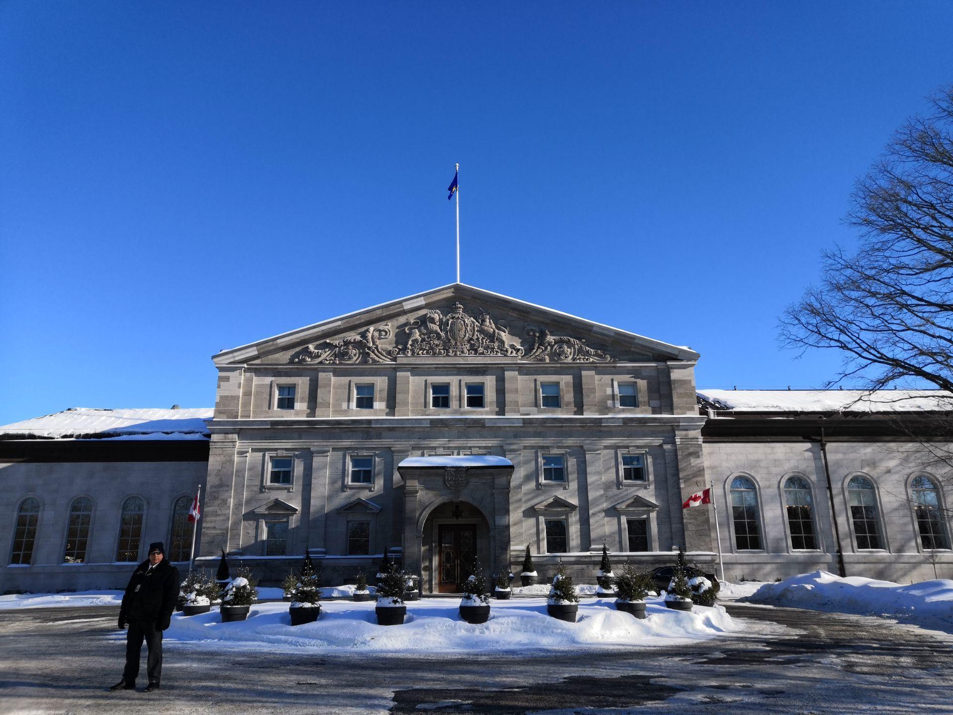 加拿大 渥太华 加拿大总督府
