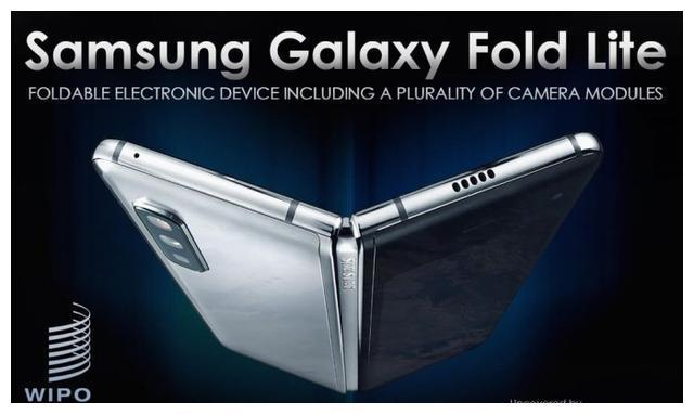 三星Galaxy Fold Lite专利图曝光:相机组件可重叠