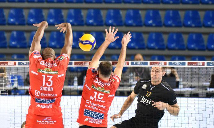 2020-2021意大利男排联赛第12轮,奇维塔诺瓦3-1维罗纳