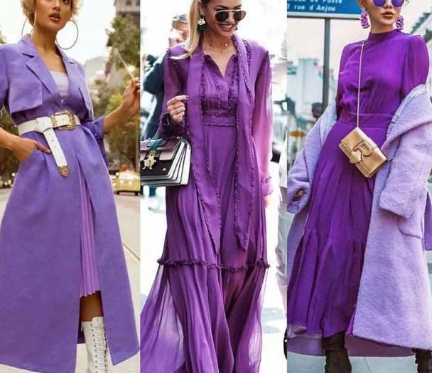 2020火遍米兰时装周的香芋紫,温柔又浪漫,看一眼就足以沉沦