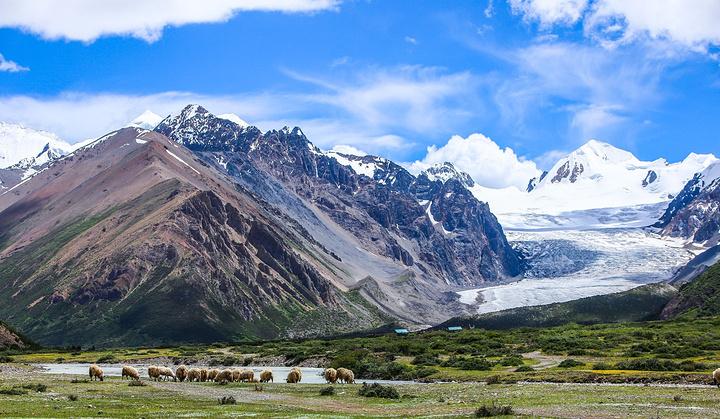 西藏自治区 林芝市 仁龙巴冰川