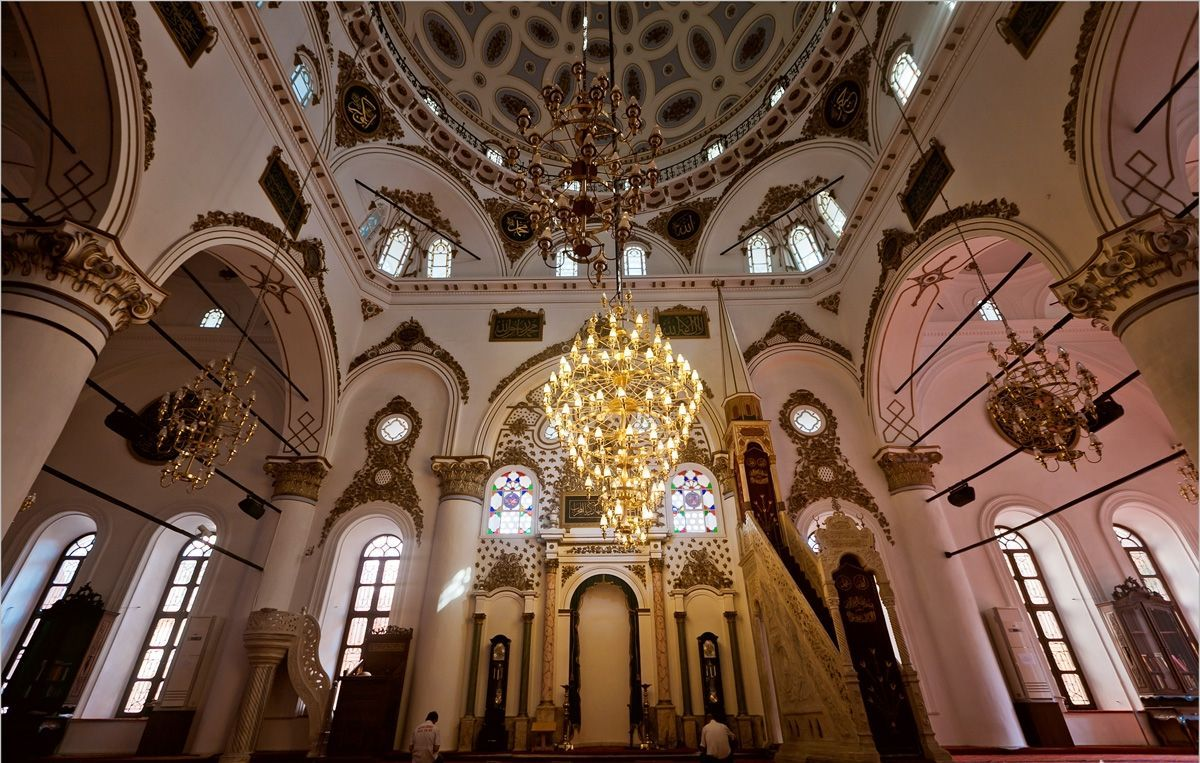 土耳其 安塔利亚 姆拉特帕夏清真寺