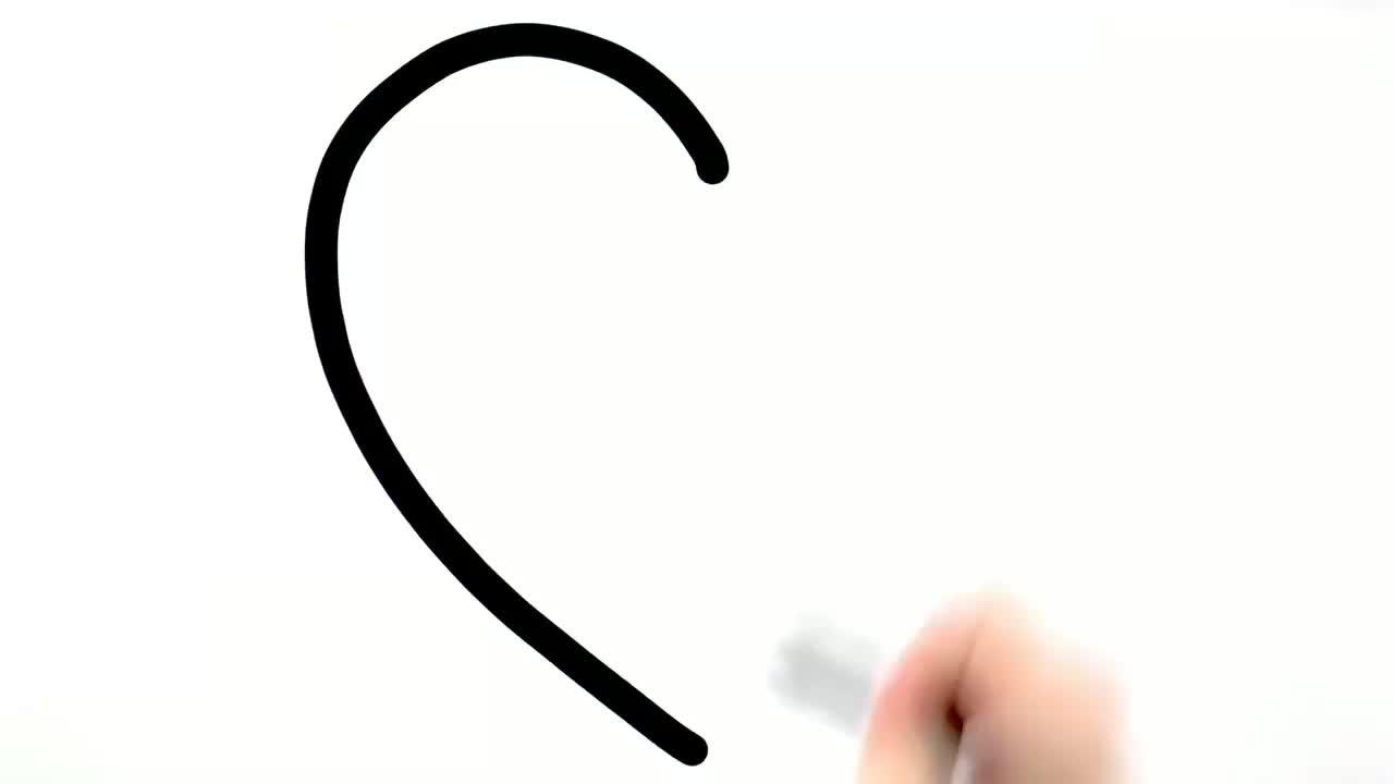 趣味简笔画,8种爱心表情包画法并涂色,哪个能代表你现在的心情